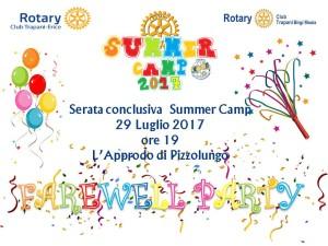invito summer camp 29 luglio